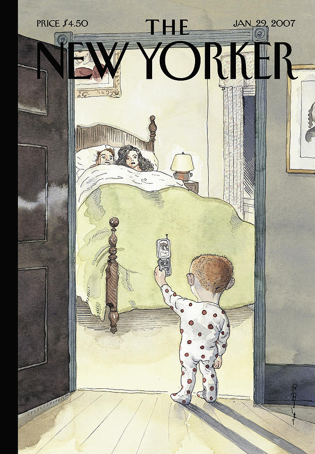 New Yorker January 29th, 2007 Painting by Barry Blitt