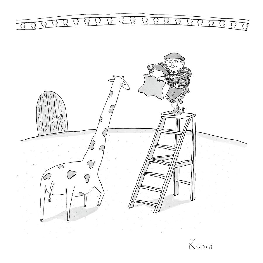 New Yorker June 11th, 2007 Drawing by Zachary Kanin