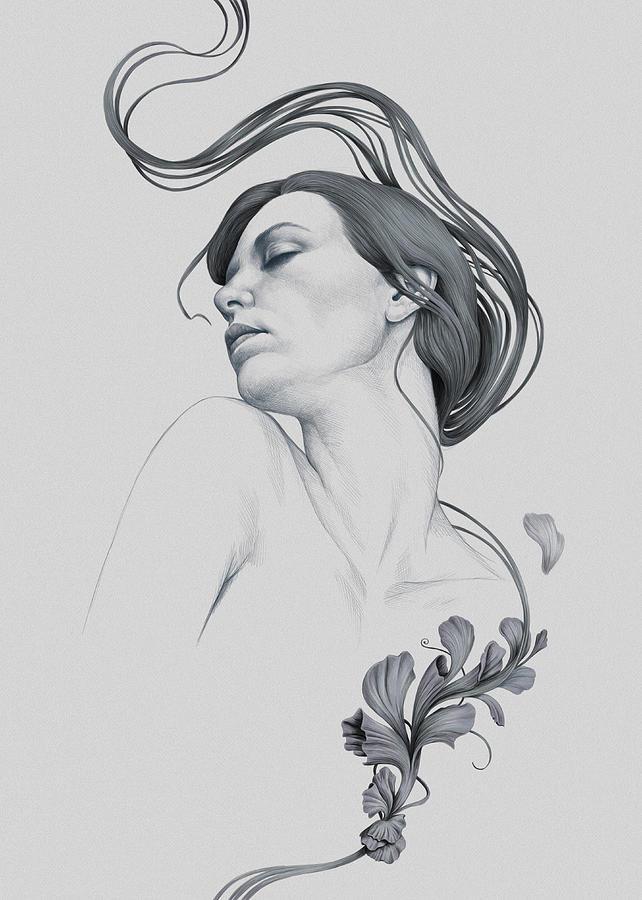 Woman Digital Art - 265 by Diego Fernandez