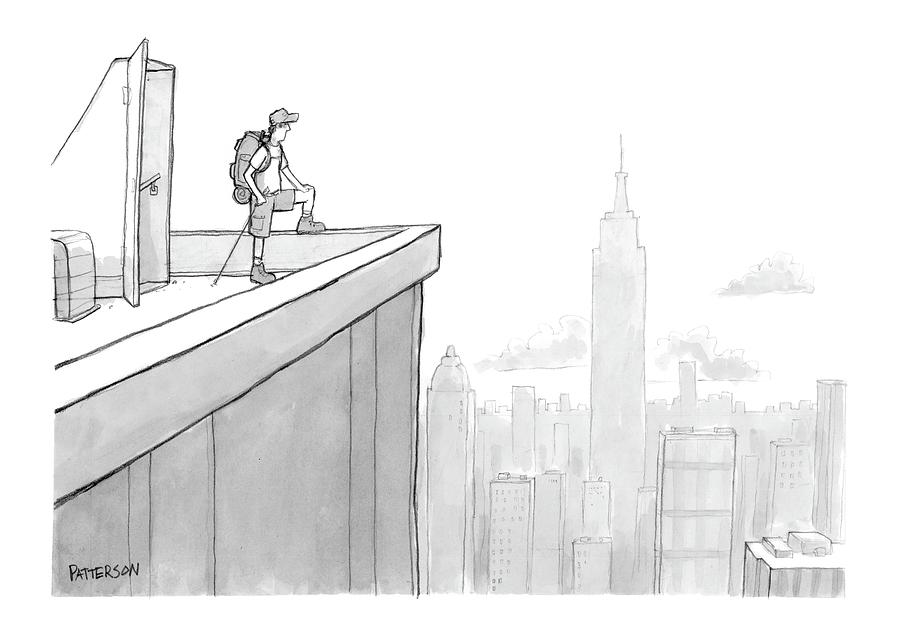 New Yorker August 1st, 2005 Drawing by Jason Patterson