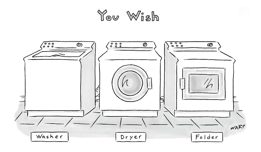 You Wish Drawing by Kim Warp