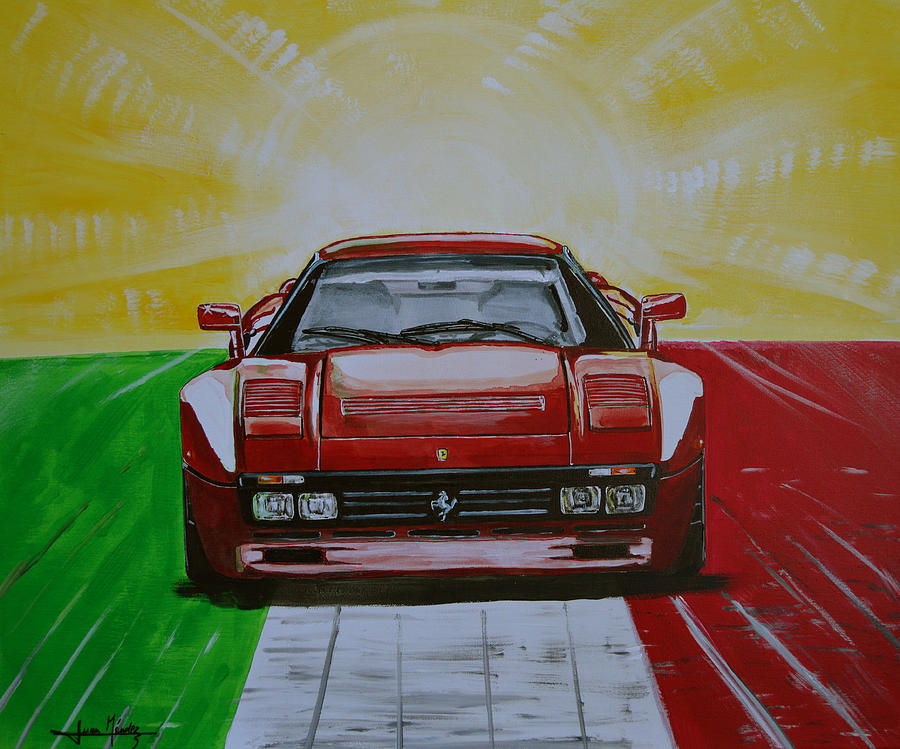 288 Painting - 288gto by Juan Mendez