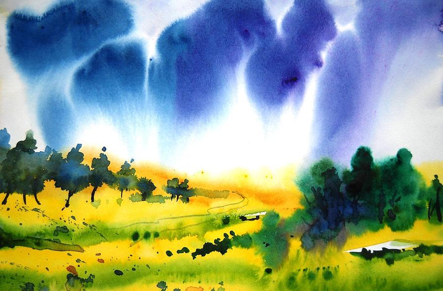 Landscape Painting - Sold by Sanjay Punekar
