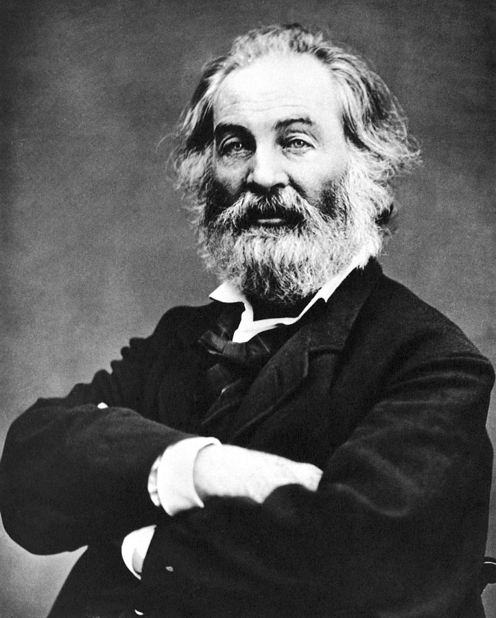 1867 Photograph - Walt Whitman (1819-1892) by Granger