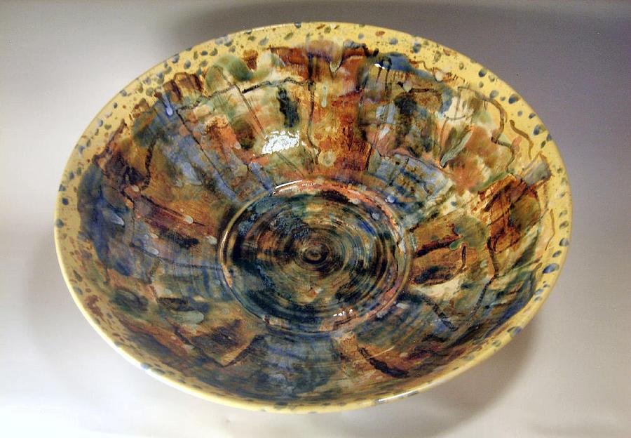 Bowl Ceramic Art - 2bbbw3 by John OBrien