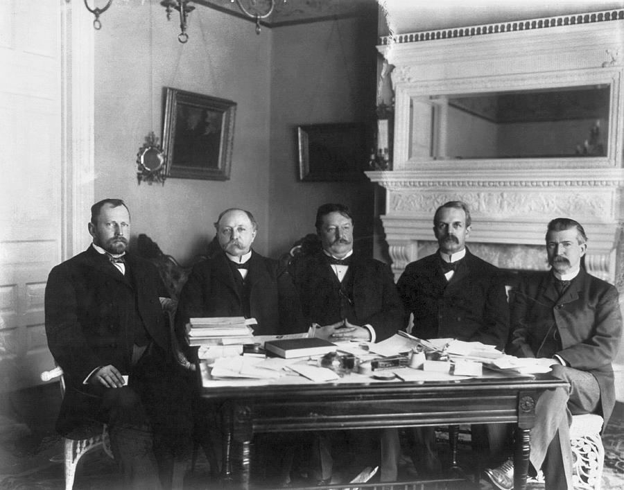 1900 Photograph - 2nd Philippine Commission by Granger