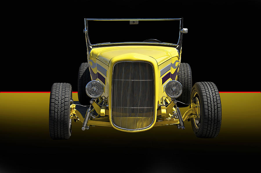 Coupe Photograph - 1930 Ford Model A Roadster by Dave Koontz