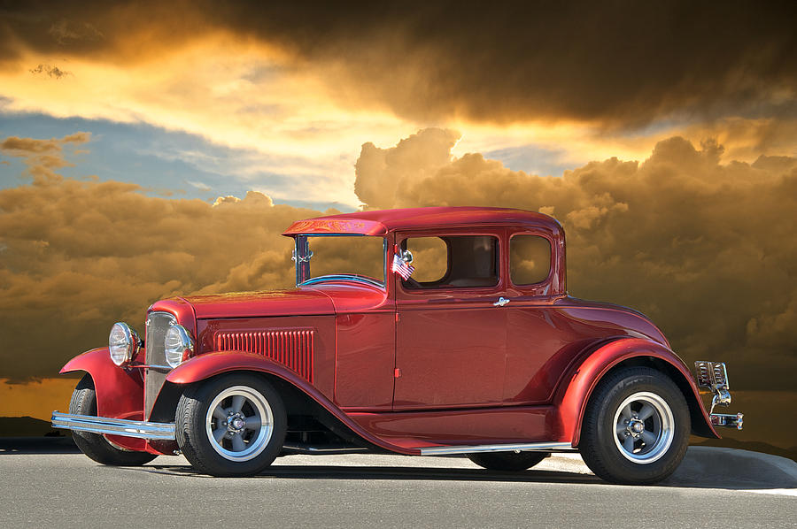 Coupe Photograph - 1931 Ford Model A Coupe by Dave Koontz