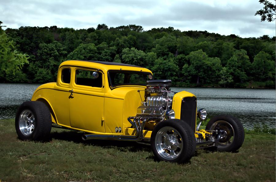 1932 Ford Coupe Hot Rod Photograph by Tim McCullough
