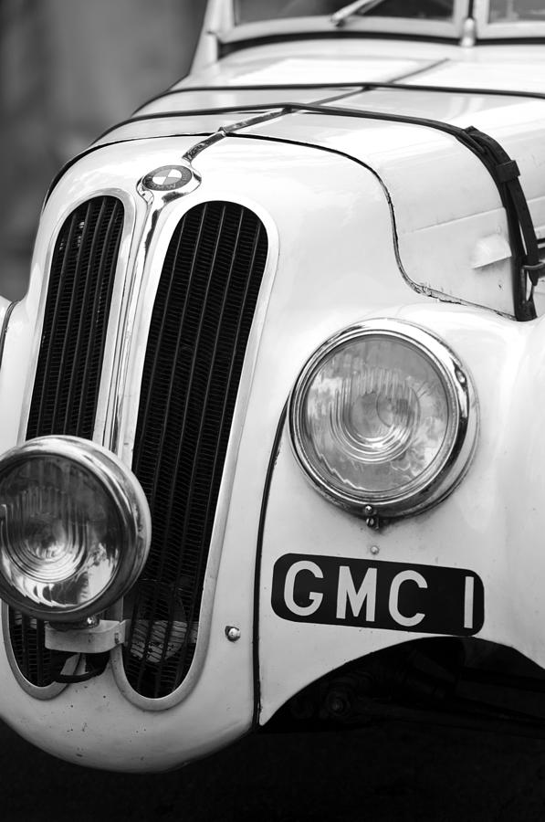 Black And White Photograph - 1937 Frazer Nash Bmw 328 by Jill Reger