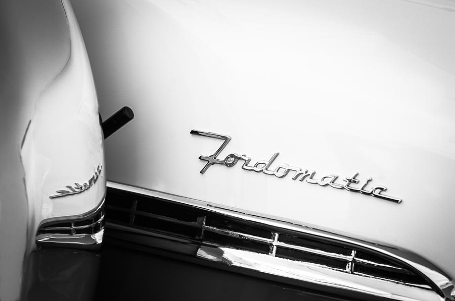 1955 Ford Crown Victoria Emblem