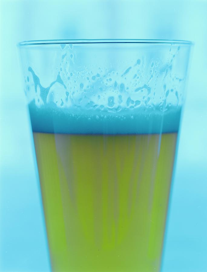 A Glass Of Beer Photograph by Romulo Yanes