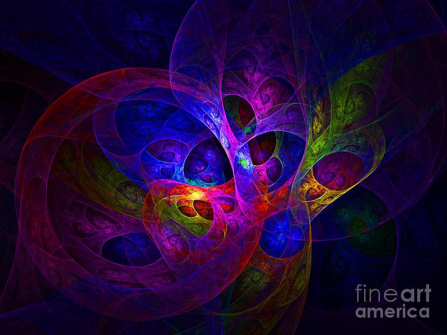 Abstract Artistic Conceptual Fantasy Digital Illustration Digital Art