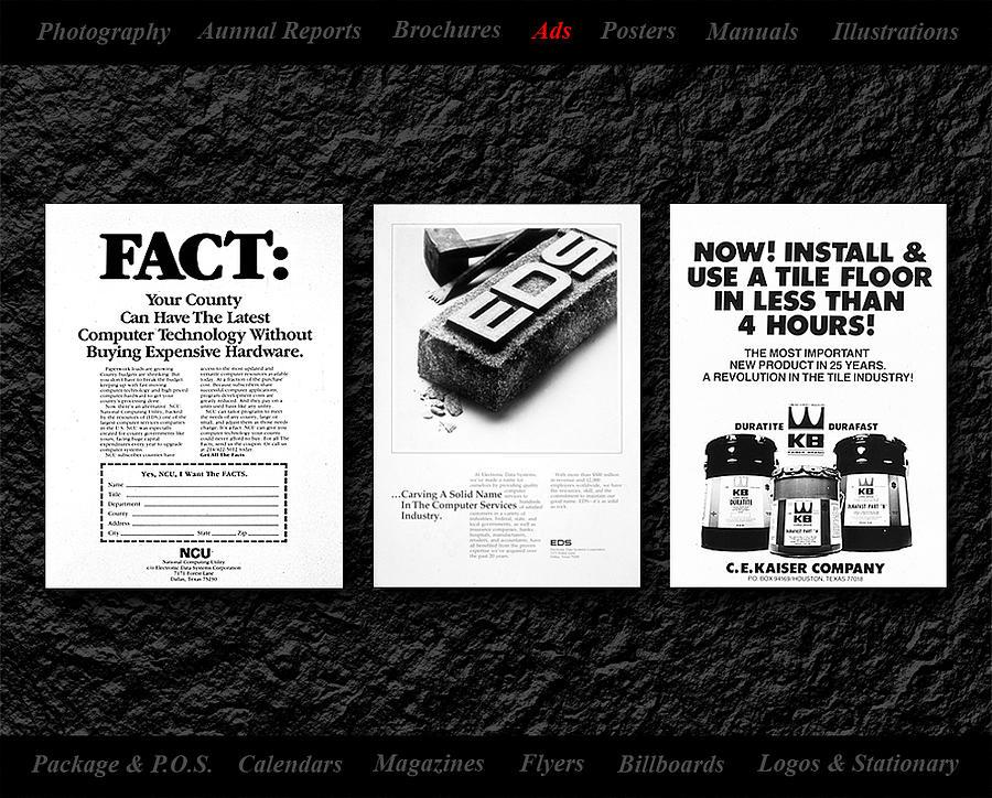 Ads Mixed Media by Gerald Lambert
