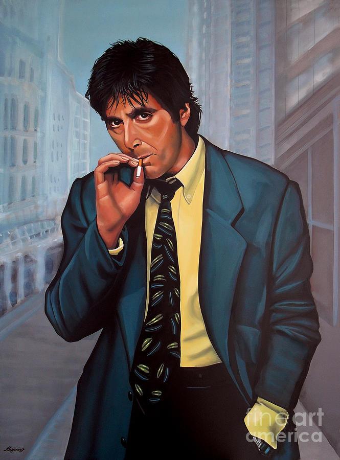 Al Pacino Painting - Al Pacino 2 by Paul Meijering