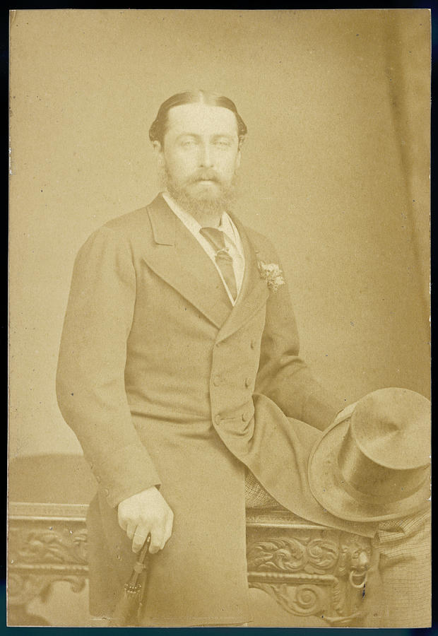 Edinburgh Photograph - Alfred Duke Of Edinburgh   Second Son by Mary Evans Picture Library