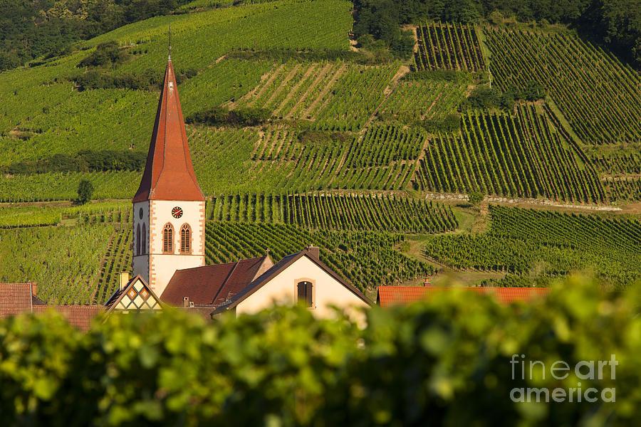 Alsace Photograph - Alsace Church by Brian Jannsen