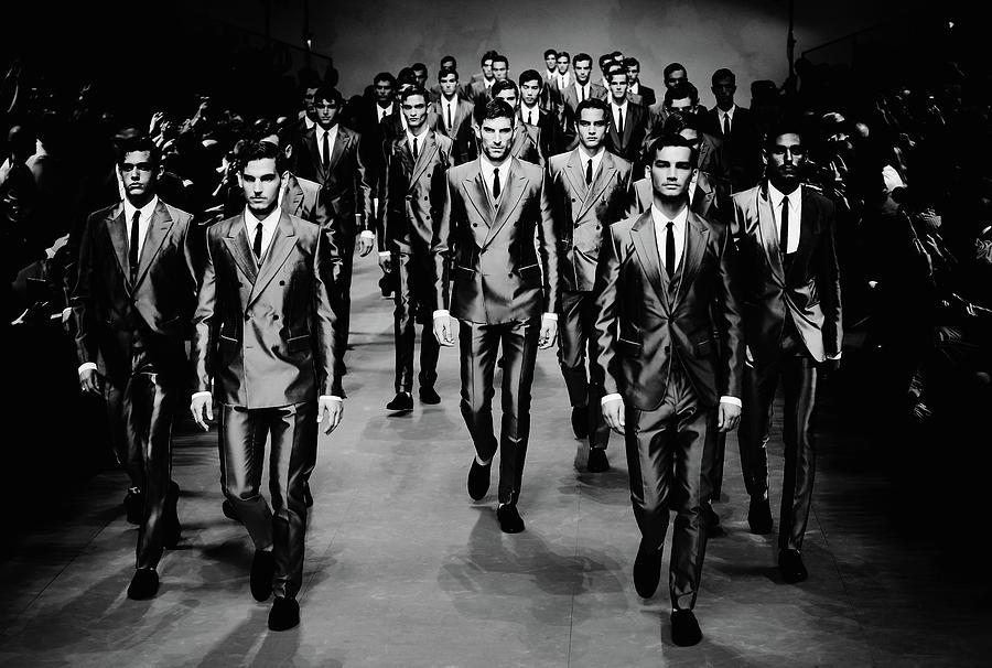 Alternative View - Milan Fashion Week Photograph by Vittorio Zunino Celotto