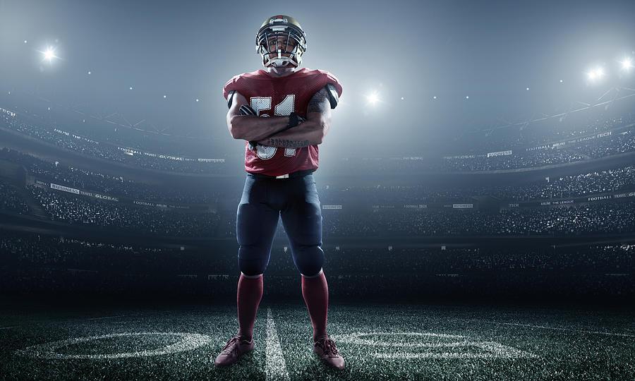 American Football In Action Photograph by Dmytro Aksonov