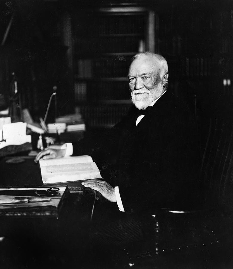 America Photograph - Andrew Carnegie (1835-1919) by Granger