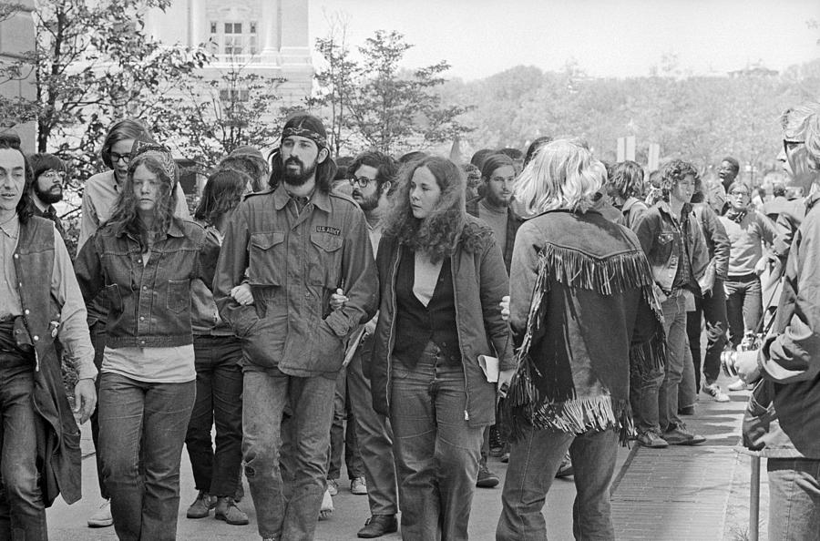 1971 Photograph - Anti-war Protest, 1971 by Granger