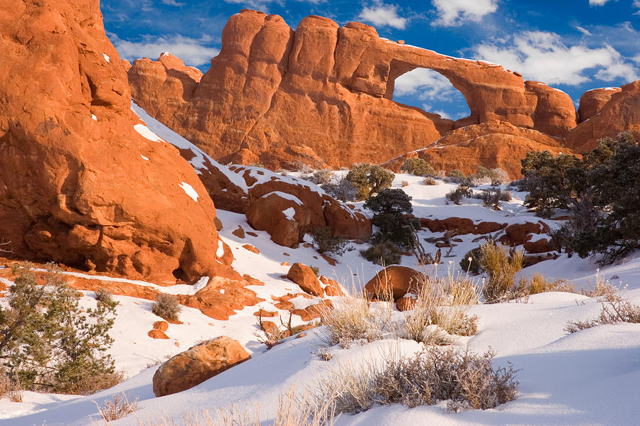 Skyline Arch Photograph - Arches National Park Utah by Utah Images