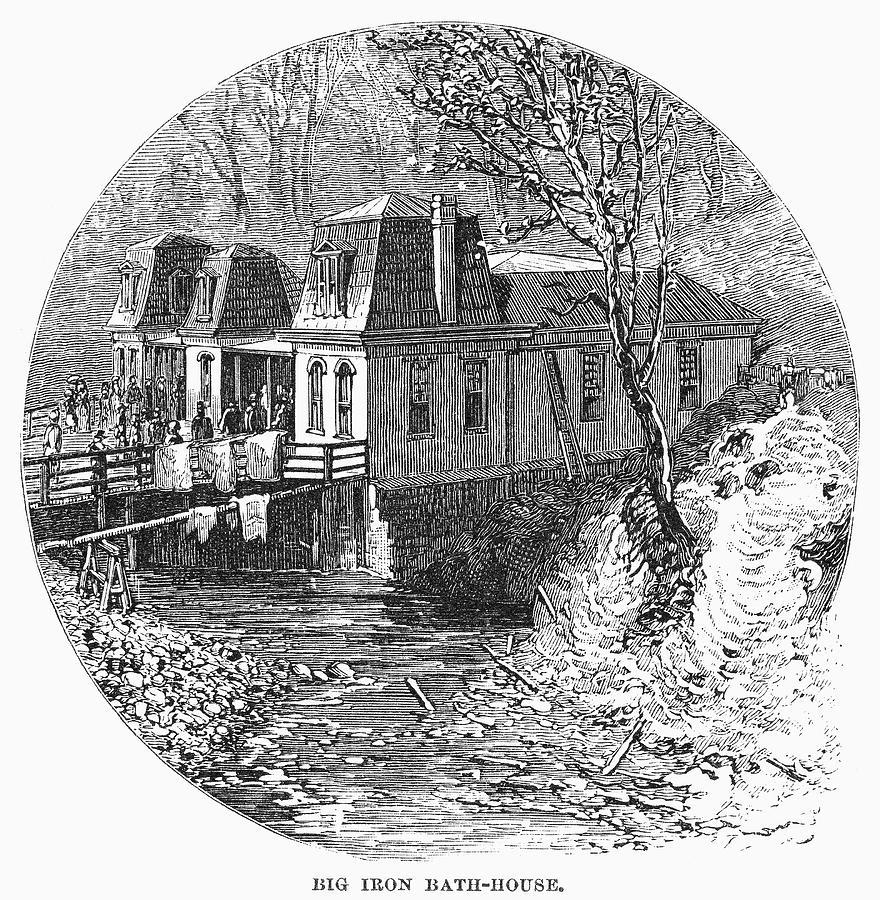 1878 Painting - Arkansas Hot Springs, 1878 by Granger