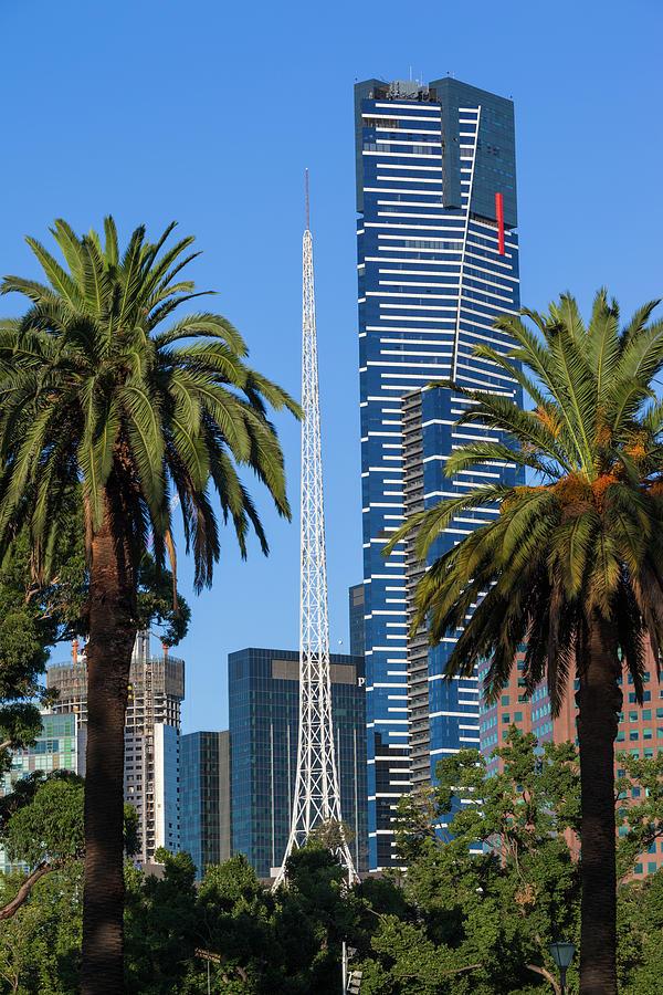 Australia Photograph - Australia, Victoria, Melbourne by Walter Bibikow