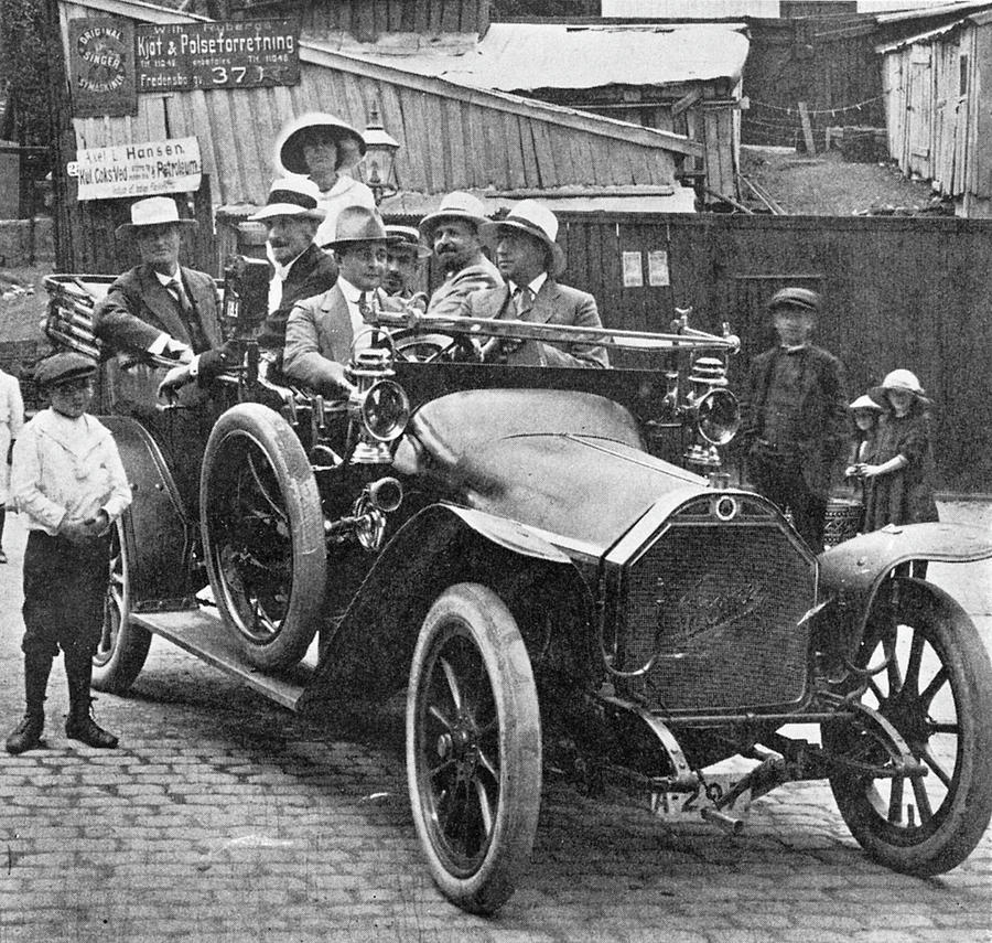 1910 Photograph - Automobile, C1915 by Granger