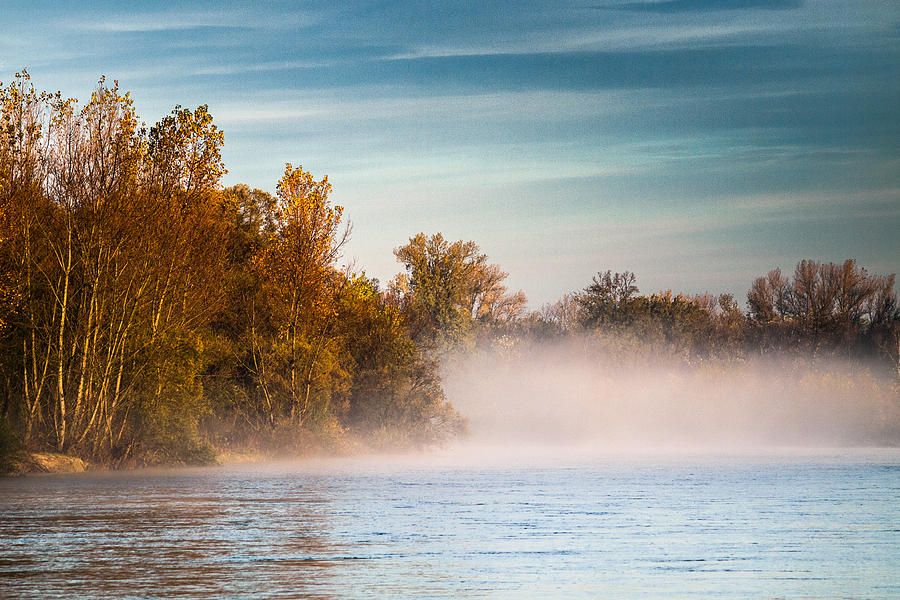 Landscape Photograph - Autumn Morning by Davorin Mance