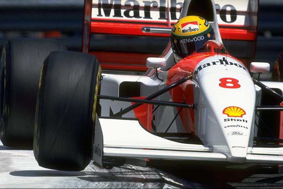 Ayrton Senna Photograph by Pascal Rondeau