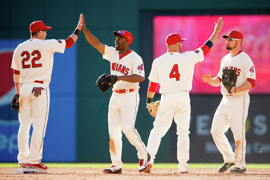 Baltimore Orioles V Cleveland Indians Photograph by Jason Miller