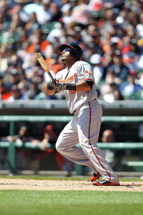 Baltimore Orioles V. Detroit Tigers Photograph by John Grieshop