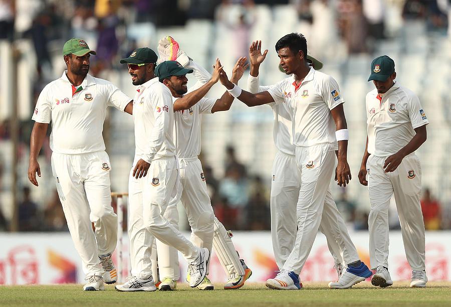 Bangladesh v Australia - 2nd Test: Day 4 Photograph by Robert Cianflone