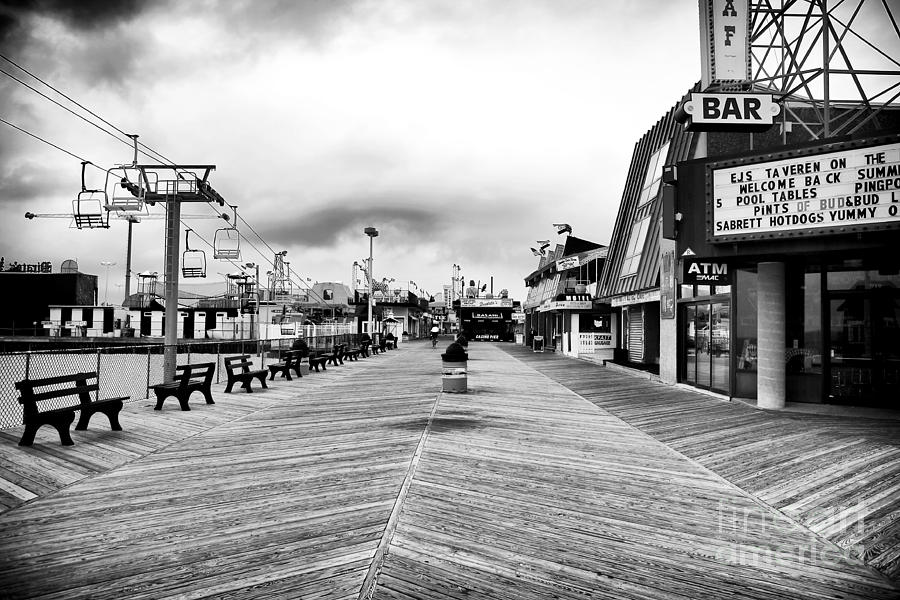 Bar Photograph - Before The Crowds by John Rizzuto