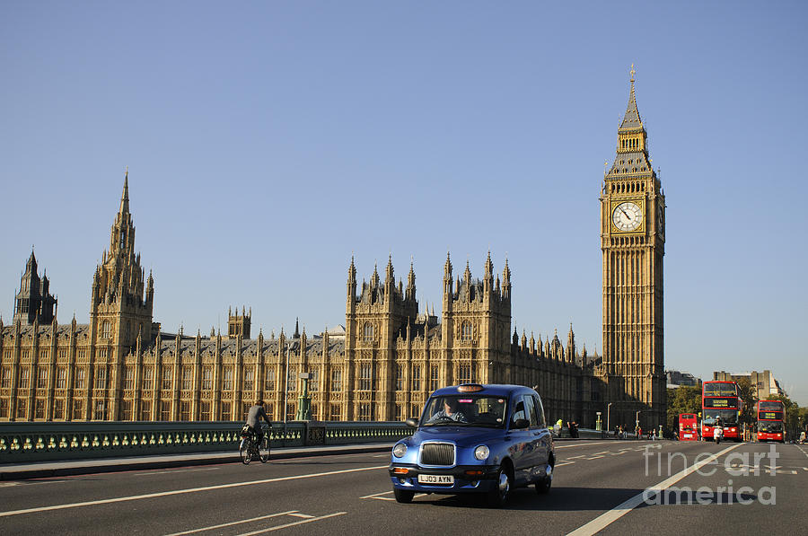 Europe Photograph - Big Ben by Lana Enderle