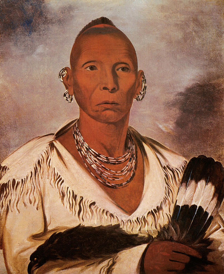 1832 Painting - Black Hawk (1767-1838) by Granger