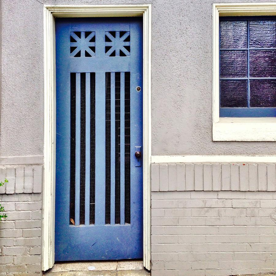 Blue Door Photograph - Blue Door by Julie Gebhardt