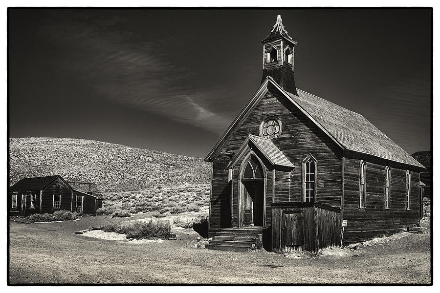 California Photograph - Bodie Church by Robert Fawcett