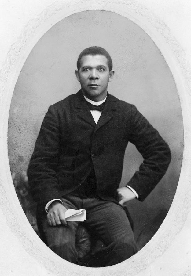 1890 Photograph - Booker T by Granger