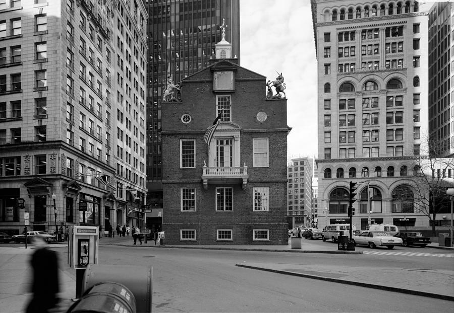 1987 Photograph - Boston Old State House by Granger