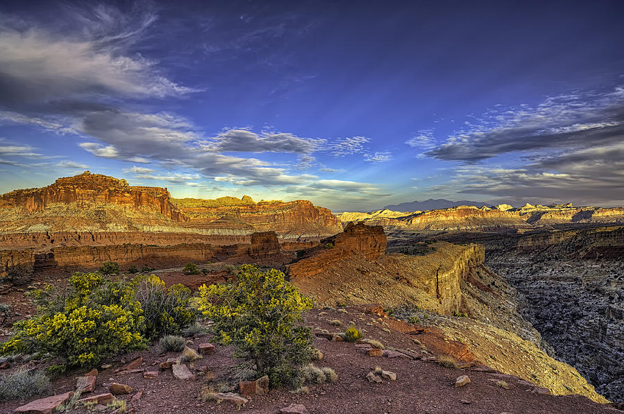 Capitol Reef Photograph - Boundless by Stephen Campbell