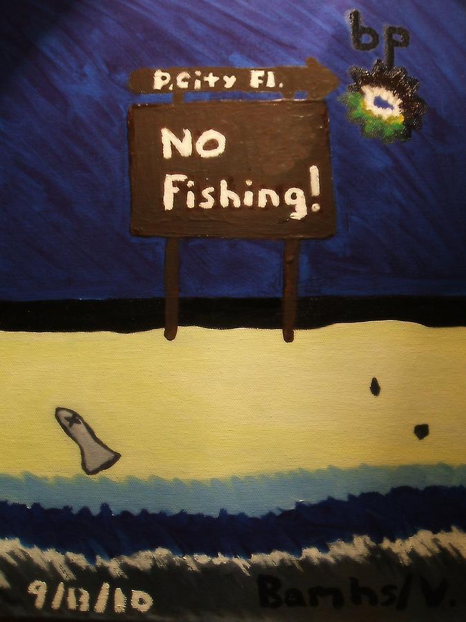 Bp Painting - Bp Oil Spill by Bamhs Blair