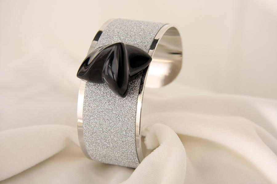 Bracciali A Fascia Con  Marmo  Bracelet Band With Marble Design By Emanuele Rubini Jewelry by Emanuele Rubini