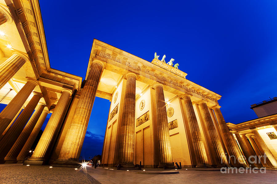 Brandenburg Photograph - Brandenburg Gate Berlin Germany by Michal Bednarek