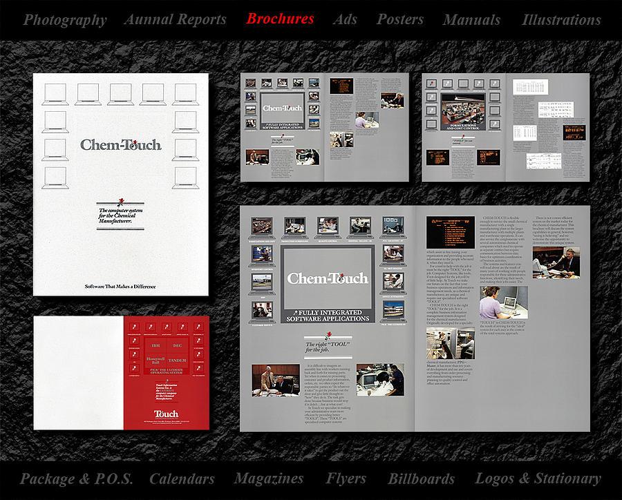 Brochure Design Mixed Media by Gerald Lambert