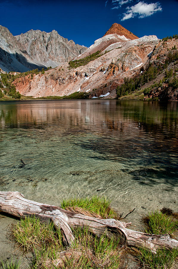 Scenic Photograph - Bull Lake And Chocolate Peak by Cat Connor