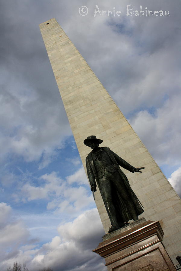 Bunker Photograph - Bunker Hill by Annie Babineau