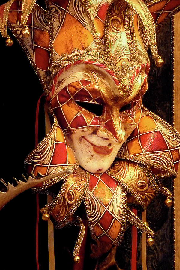 Carnivale Mask 1 by VICKI HONE SMITH
