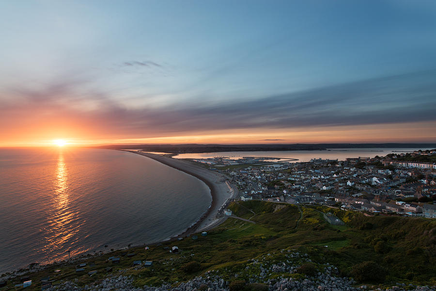 Europe Photograph - Chesil Beach  by Ollie Taylor